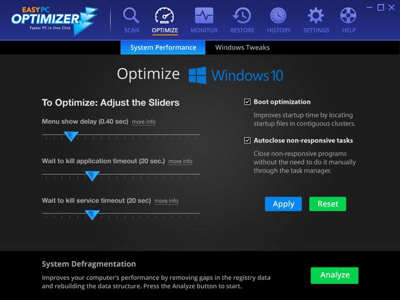 Windows 7 Easy PC Optimizer 2.0.19.428 full