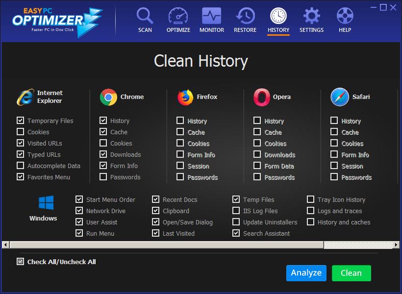 Easy PC Optimizer - Windows 7 PC slow - best ways to speed